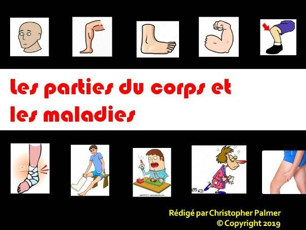 French:Body parts & ailments: Reflexive verbs in the perfect tense with direct objects (Key Stage 3)