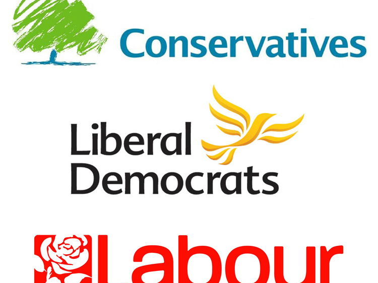 The three main political parties today