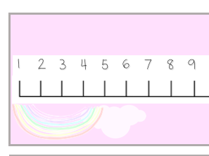 Number Lines /Llinellau Rhif - PASTEL