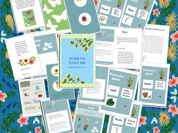 Outdoor Play Activity Book (Social Distancing)