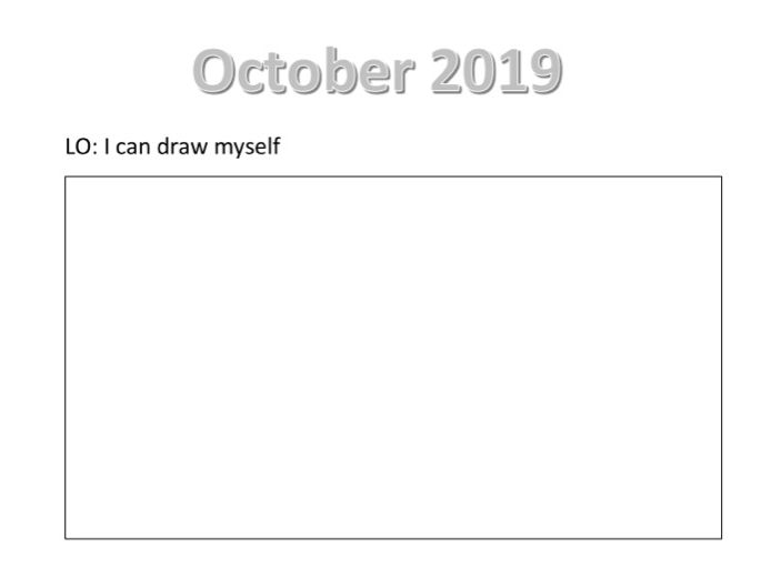 My self portrait sheet 2