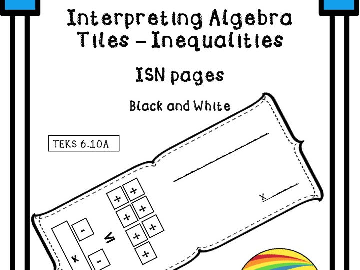Interpreting Algebra Tiles - Inequalities