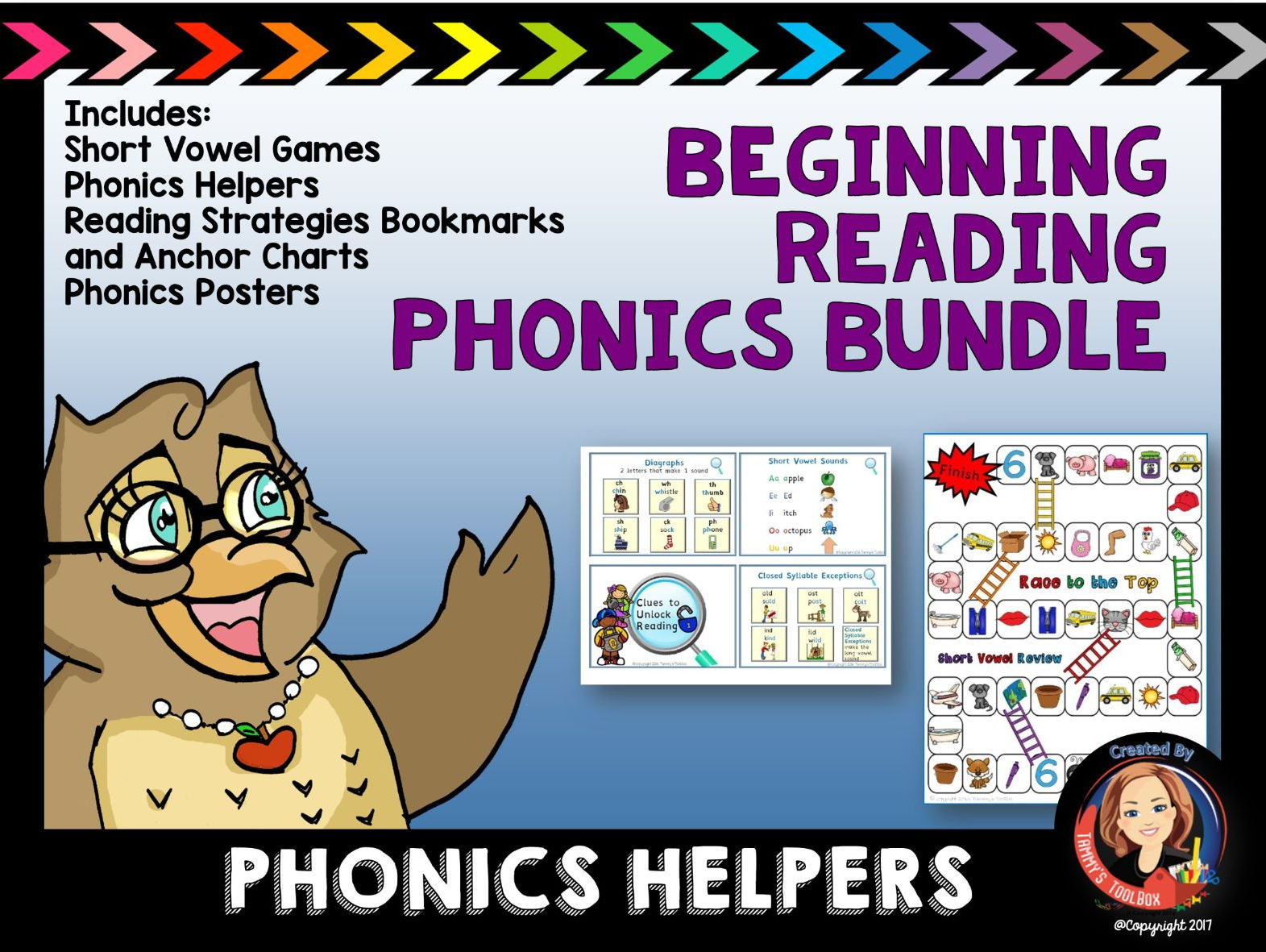 Beginning Reading and Phonics Activity Bundle