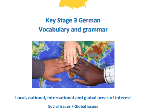Social and Global Issues - German - Vocab and Grammar
