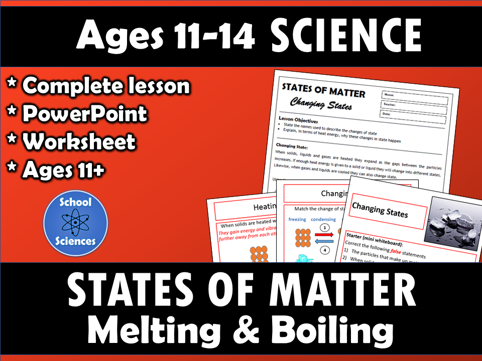 States of Matter: Melting and Boiling