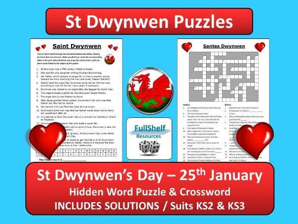 Saint Dwynwen / St Dwynwen's Day