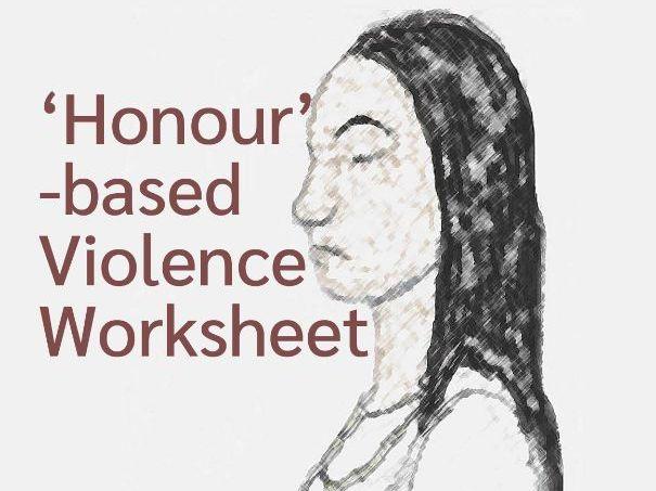 'Honour'-based Violence Worksheet