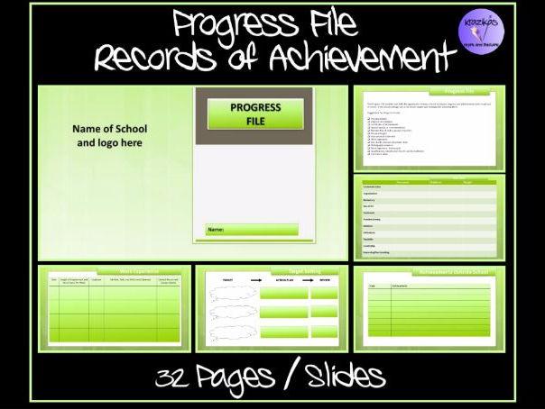 Progress File and Records of Achievement