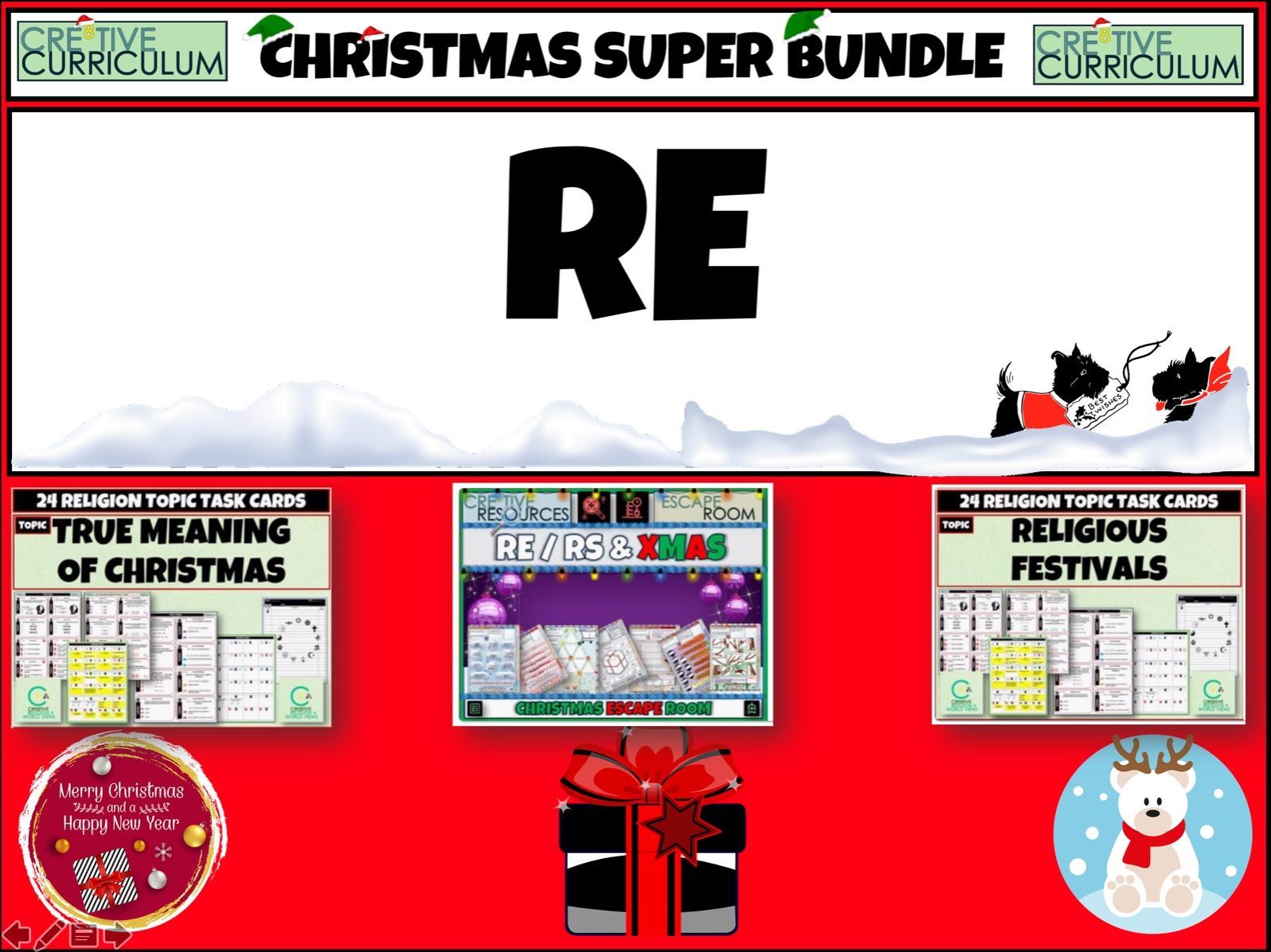 RE Christmas Bundle