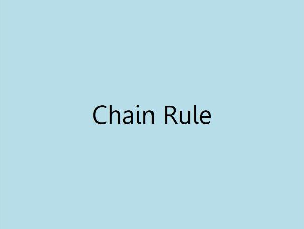 Chain Rule (A2 Maths)