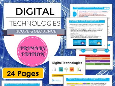 Digital Technologies Scope & Sequence (Primary Edition)