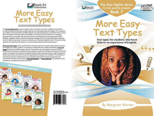 Easy English Book 7: More Easy Text Types (Australian E-book for ESL and At Risk Students)