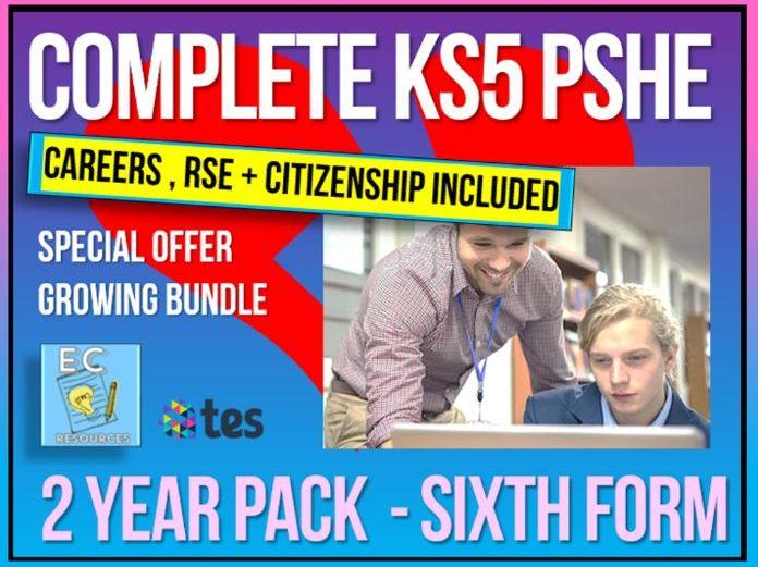 Complete KS5 PSHE + Careers