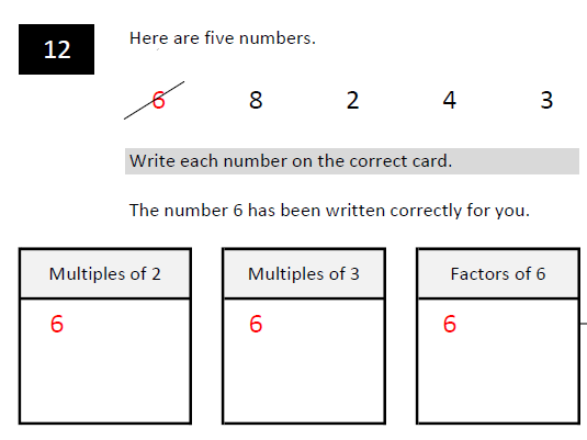 2019 - KS2 Random Maths SATs pack - Papers 1,2 and 3