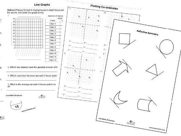 Over 1000 maths worksheets for children aged 5-11