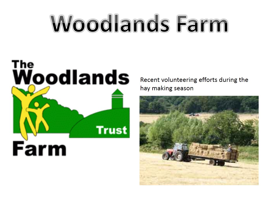 Geography assembly on Woodlands Farm