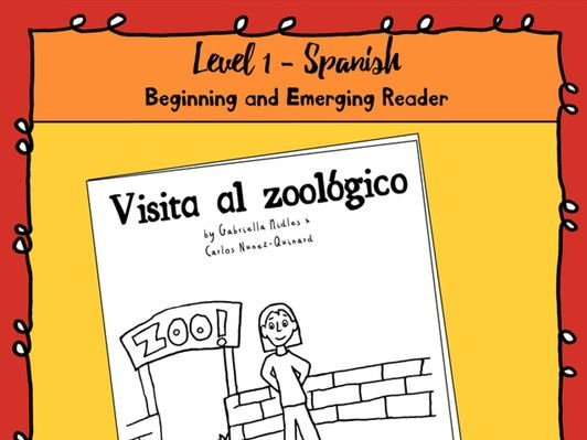 Emerging Reader Book Series: A Visit to the Zoo (Visit al zoologico) - Spanish