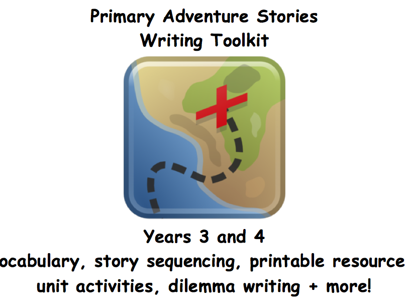 Primary Adventure Stories Writing Toolkit