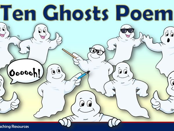 Ten Ghosts Poem