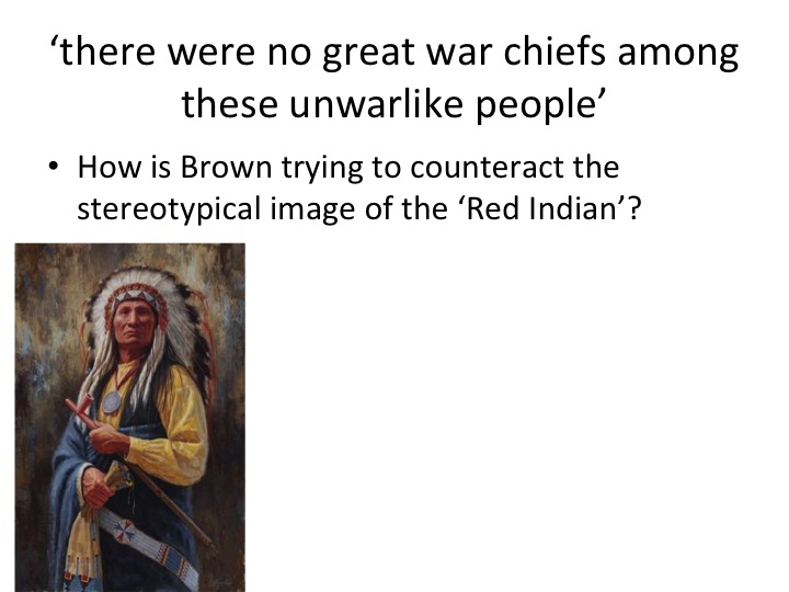 Perspectives in History- Bury My Heart at Wounded Knee. GCSE Non-Fiction