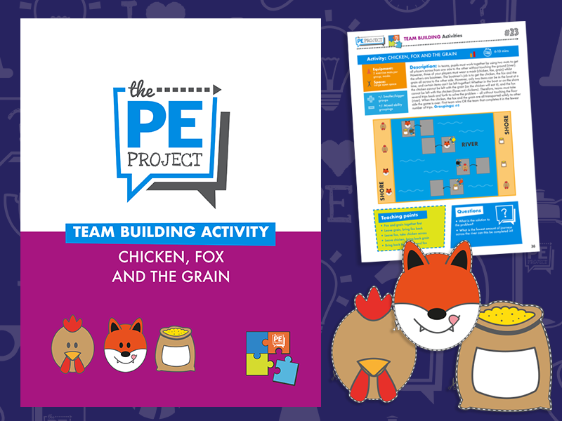 FREE: Chicken, Fox and the Grain - Team Building Activity