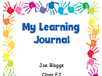 Learning Journal Book Cover for Early Years