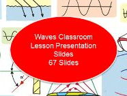 Waves Classroom Lesson Presentation Slides (67 Slides)