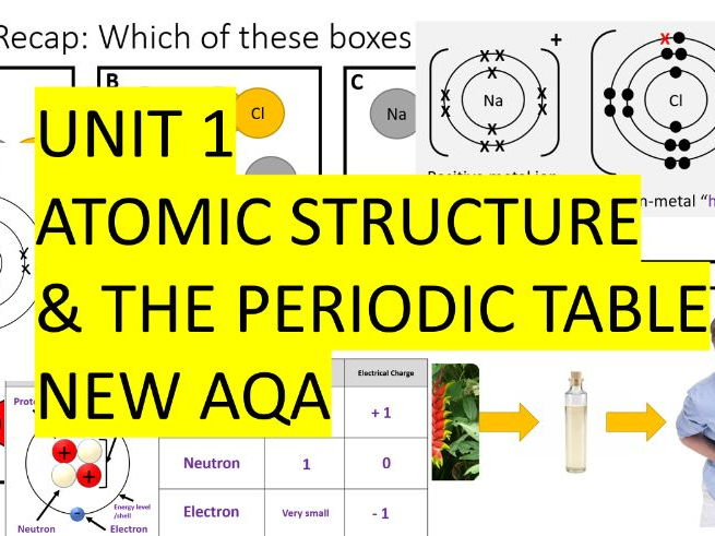 Tullchem shop teaching resources tes aqa combined science trilogy chemistry whole unit 1 atomic structure the periodic table urtaz Image collections