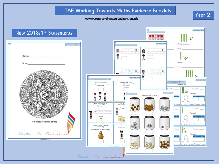 TAF Working Towards Evidence Booklet
