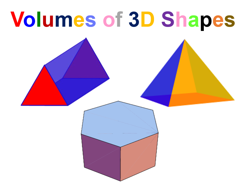 Volumes of 3D Shapes