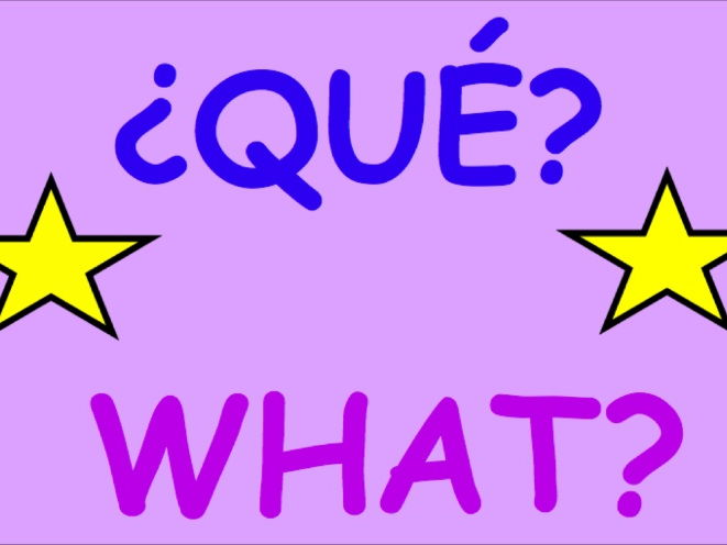 Spanish questions display posters