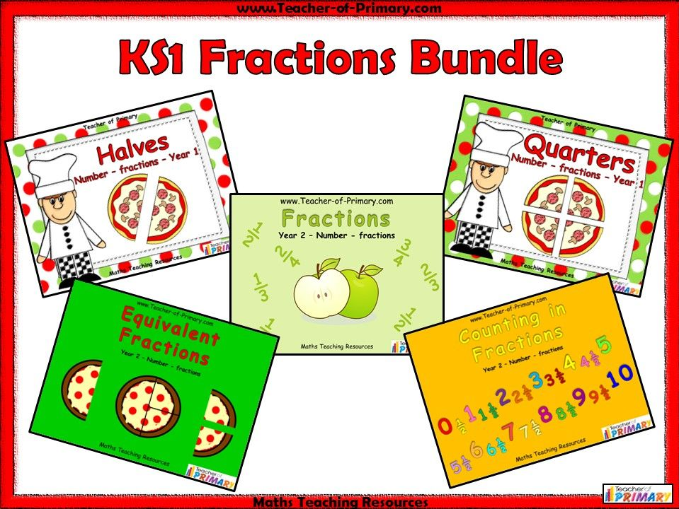 KS1 Fractions Bundle