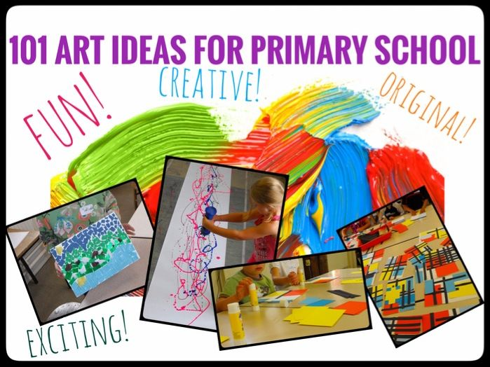 Art. 101 Ideas for Primary Art Lessons. Key Stage 2
