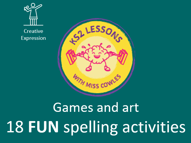 Fun spelling activities
