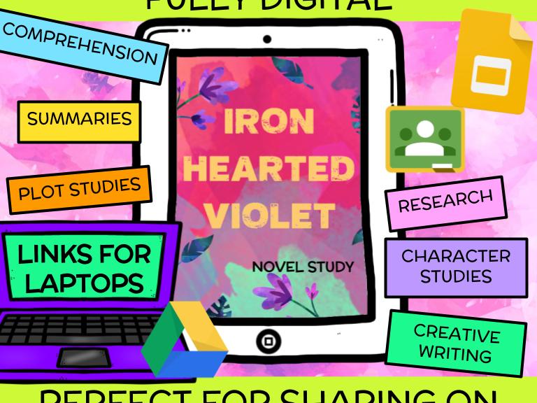 Iron Hearted Violet Novel Study