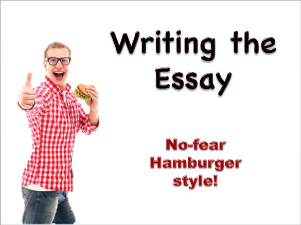 Writing the Essay - Hamburger Style