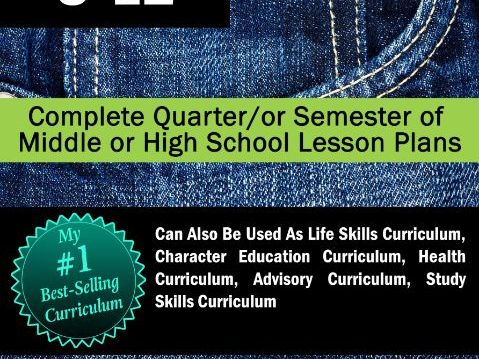 Habits for Teens   Life Strategies for Teens UNIT   17 WEEKS of Lesson Plans!