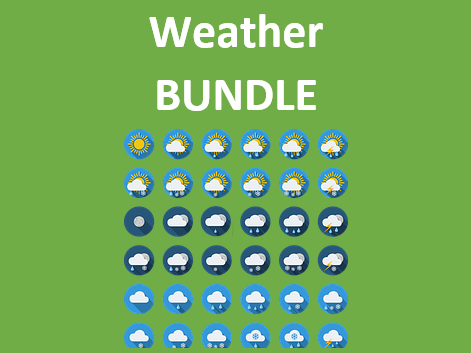 Tiempo (Weather in Spanish) Bundle