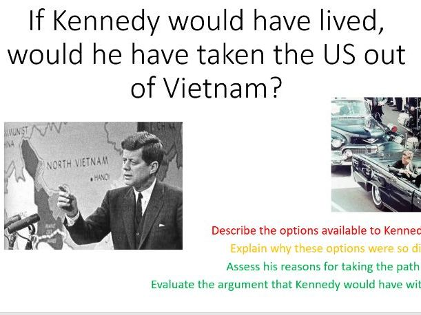 JF Kennedy and Vietnam War