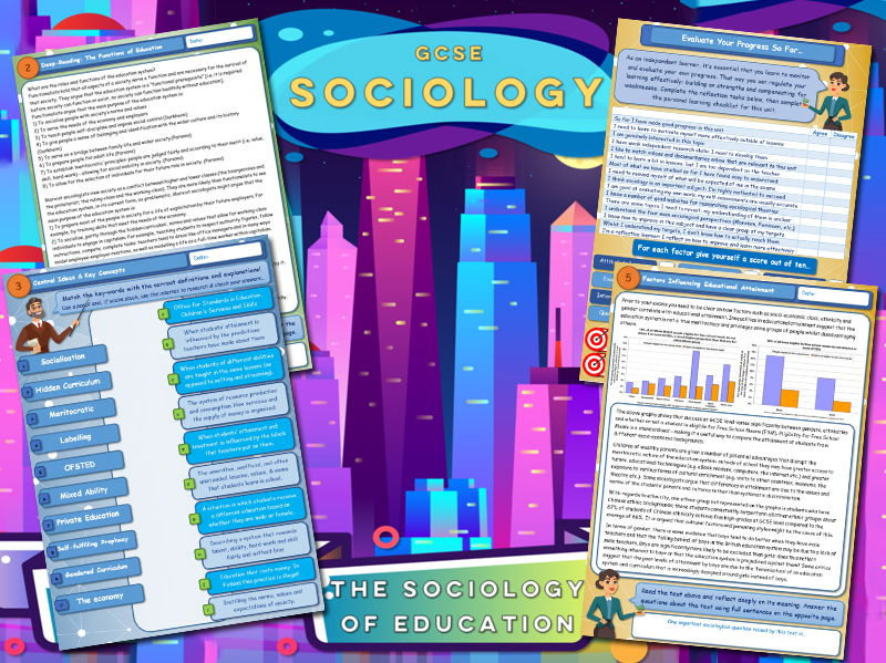 GCSE Sociology Workbook - Education