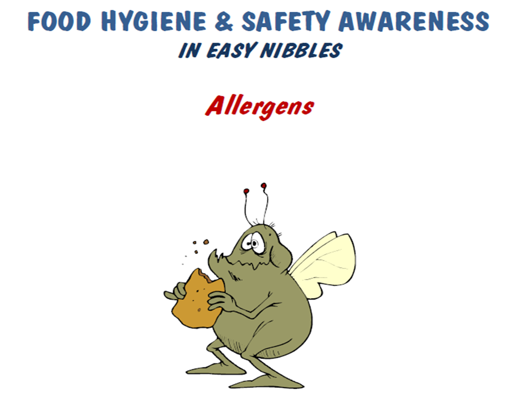 Food Safety:  Allergens