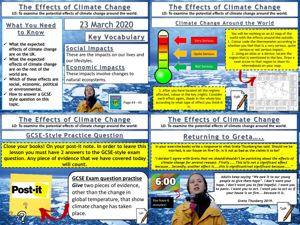Climate Change: The Effects of Climate Change