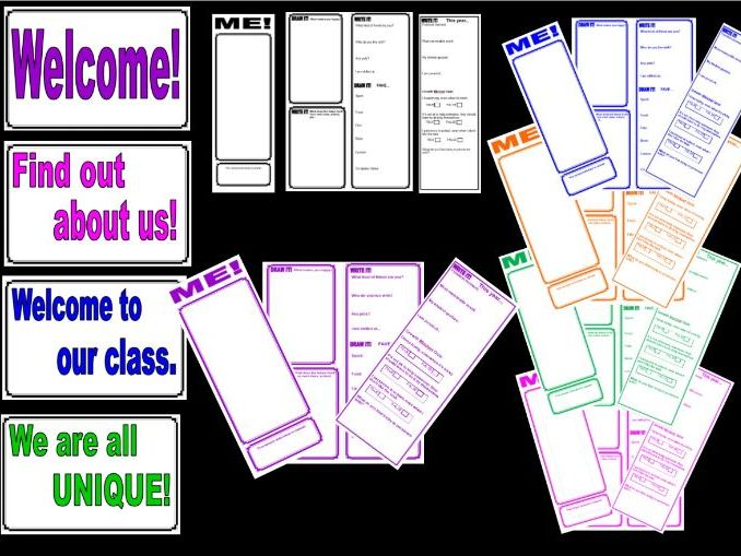 All about ME! Complete colourful leaflet and display pack. Aimed at year 5/6