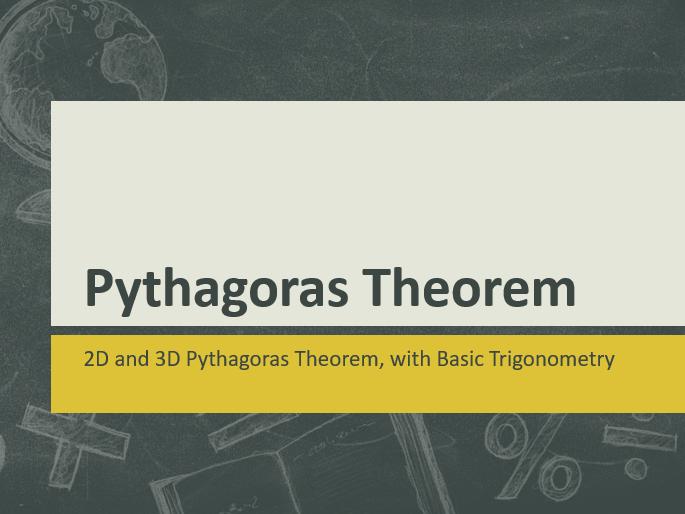 Pythagoras Theorem Bundle