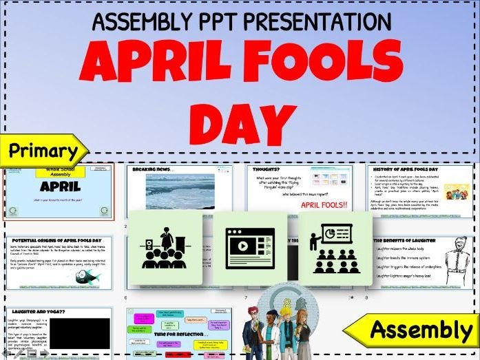 April Fools Day 2020 assembly