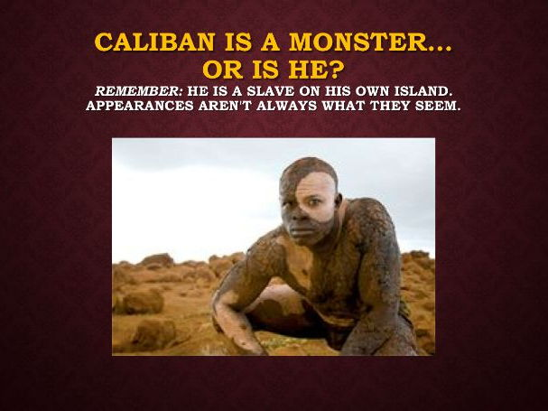 Two Lesson Bundle - Caliban's Dream(One Reading and One Writing Lesson)