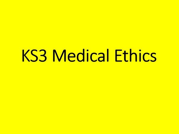 KS3 RS - Medical Ethics - AI Technology