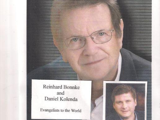 Reinhard Bonnke and Daniel Kolenda