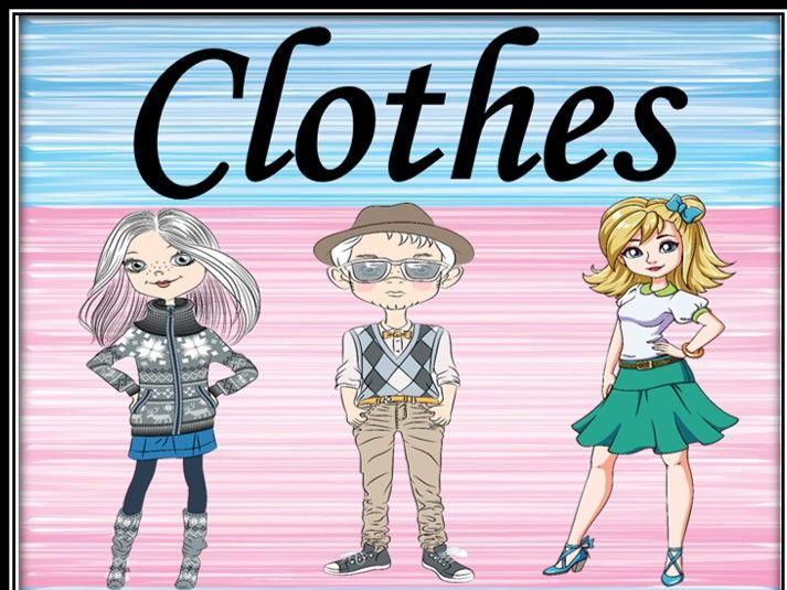 Clothes. Describing people.