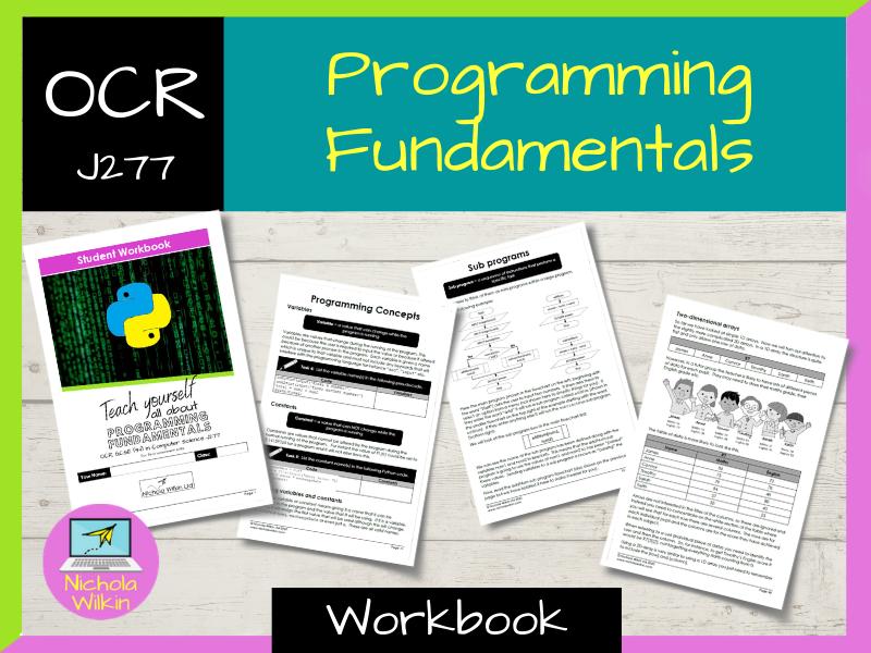 Programming Fundamentals OCR GCSE Computer Science Workbook (J277)